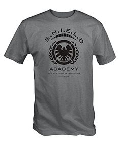 Shield Academy T Shirt (Grey , Small) 6TN http://www.amazon.co.uk/dp/B00TNE36R8/ref=cm_sw_r_pi_dp_AZnrwb1WTD19W