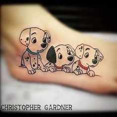 100 magical Disney tattoo ideas for every Disney fanatic. Tattoos last forever, but so does the love for Disney. Movies, charcters, quotes, discover here. Wolf Tattoos, Sexy Tattoos, Body Art Tattoos, Tattoos For Women, Tatoos, Cat Tattoos, Ankle Tattoos, Arrow Tattoos, Friend Tattoos