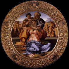 Michelangelo, Doni Tondo, 1506