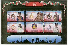 Oman : 30th National Day 2000 SS MNH (Gold foil)
