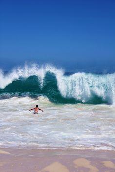 Summer, waves