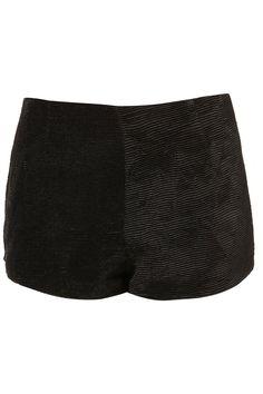 Topshop Unique Silk Texturised Ripple Shorts £ 60