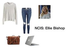 """Ellie Bishop NCIS"" by jamiedogs ❤ liked on Polyvore featuring Frame Denim, Brixton and Speck"