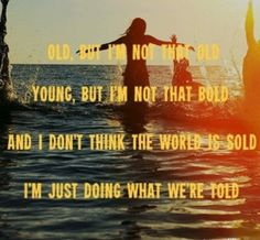 Counting stars- one republic