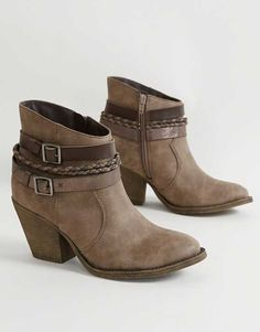 Brown Ankle Boots : BKE Sole Elaina Ankle Boot | Buckle