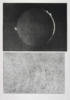 Item: Jupiter Moon - Constellation (1983) Artist: Vija Celmins