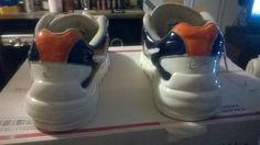 Auburn shoe airbrushed 8