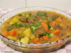 Receita de Picadinho de carne com legumes fácil - Tudo Gostoso