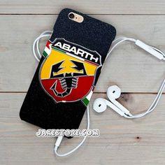 Fiat Abarth Logo Wallpaper iPhone Case 4 5 6 Plus Hardcase