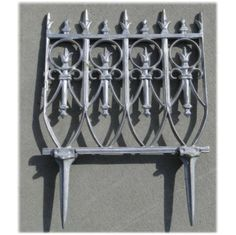 Genial Victorian Garden Fence Antique Finish Old English By TheKingsBay