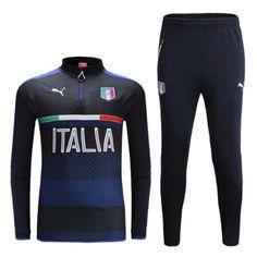 2ef582d4e Survetement Italie 2016 Noire. Olivia Drysdale · Football tracksuits