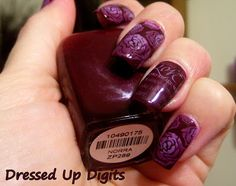 Dressed Up Digits: Roses for Valentine's Day