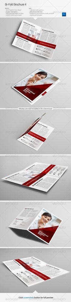 Bi Fold Brochure 4 Graphicriver