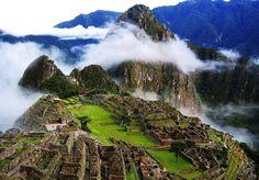 Cusco, Peru Machu Picchu is a pre-Columbian Inca site located metres above sea level. Machu Picchu is located in the Cusco Region of Peru, South America Machu Picchu, Huayna Picchu, Beautiful Places In The World, Beautiful Places To Visit, Places Around The World, Amazing Places, Beautiful Life, Dream Vacations, Vacation Spots