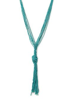 Beaded Knot Necklace | FOREVER21 - 1000088005