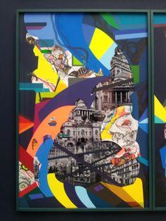 Franz Ackermann School Projects, Art Projects, Mental Map, Gcse Art, Aesthetic Art, Urban Art, All Design, Gcse 2015, Art Drawings
