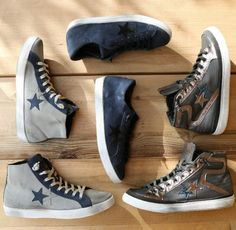 Try these #2star sneakers and you'll look and feel fabulous in them!  www.2star.it   #low #high #sneaker #sneakers #blue #gray #brown #gold #colours #brushed #used #effect #shoe #shoes #spring #summer #collection #man #boy #style #fashion #instacool #instadaily