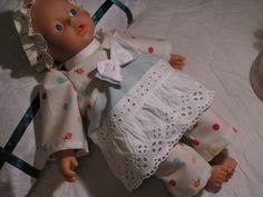 Puppenkleidung-Set 4 Tlg. f. Little Baby Born NEU Gr. 32 cm  und and. Puppen