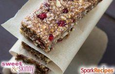 DIY Flax Seed Granola Bars Recipe