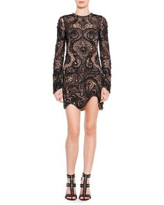 Pucci Black Lace Dress