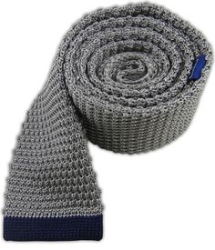 Tipped Knit - Gray