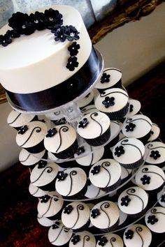 Cupcake grad cake idea?