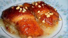 Deep South Dish: Crescent Apple Dumplings I use Diet Sundrop! Fruit Recipes, Apple Recipes, Fall Recipes, Sweet Recipes, Dessert Recipes, Cooking Recipes, Yummy Recipes, Apple Dumpling Recipe, Apple Dumplings