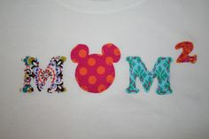 Disney Mom Shirt Mom Squared Cubed Be a Proud by mylittlelegacies, $36.95