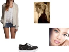 """sam"" by cgalgano ❤ liked on Polyvore"