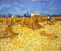 I admire Vincent Van Gogh
