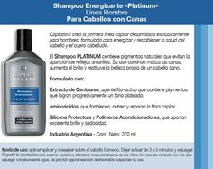 Resultado de imagen para shampoo matizador de canas para hombre Vodka Bottle, Shampoo, Drinks, Beauty, Hair Health, Hair And Beauty, Men, Drinking, Beleza