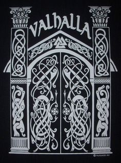 Valhalla Norse Viking Hall of the Fallen Rune T-Shirt WH Viking . - Valhalla Norse Viking Hall of the Fallen Rune T-Shirt WH Viking Hall of the Fallen - Viking Tattoo Symbol, Norse Tattoo, Wiccan Tattoos, Inca Tattoo, Viking Tattoo Design, Viking Hall, Wald Tattoo, Norse Mythology Tattoo, Symbole Viking