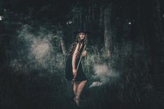 """Black Magic""— Photographer: Adam Bird Makeup: Rebecca Hotchkiss Model: Rebecca Ingram"