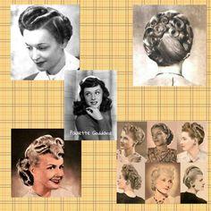 Diversos Peinados Años 40