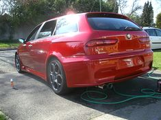 Alfa Romeo 156 GTA Sportwagon Spruce Up. - Detailing World Alfa Romeo Gtv6, Wagon Cars, Henry Ford, Chevrolet Corvette, Gta, Cool Cars, Classic Cars, Vehicles, Vroom Vroom