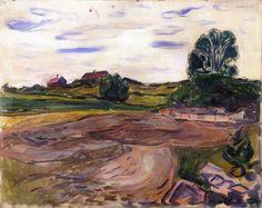 Landscape.1904 by Edvard Munch