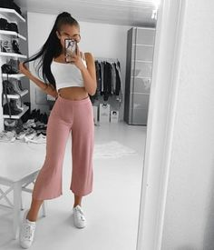 Sport chic feminino verao Ideas for 2019 Teen Girl Outfits, Mode Outfits, Outfits For Teens, Sport Outfits, Trendy Outfits, Summer Outfits, Fashion Outfits, Womens Fashion, Teenager Fashion Trends