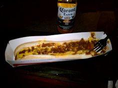 Chili dog and a Corona FTW!