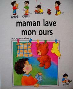 Maman lave mon ours, Ce matin, Camille est tout triste car maman lave son ours.