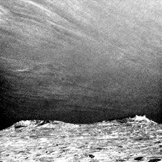Clouds drift across the sky above a Martian horizon in this accelerated sequence of enhanced images from NASA's Curiosity Mars rover. The rover's Navigation Camera (Navcam) took these eight images over a span of four minutes early in the morning of the mission's 1,758th Martian day, or sol (July 17, 2017), aiming toward the south horizon.