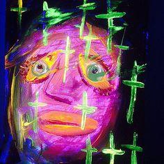 #gregggriffin #popart #goth #painting #art #Hockney #pop #modern