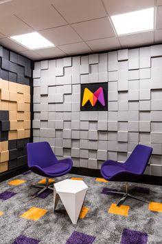 Studio Tv, Home Studio Setup, Music Studio Room, Recording Studio Home, Studio Design, Modern Home Interior Design, Studio Interior, Tv Set Design, Reception Desk Design