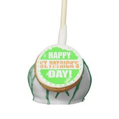 Shop Vintage Happy Saint Patricks Day Cake Pops created by templeofswag. Personalize it with photos & text or purchase as is! St Patricks Day Cakes, Happy St Patricks Day, Cake Pops, Fox Cookies, Saint Patricks, Bear Cakes, Woodland Party, Holiday Cocktails, Vintage Pictures