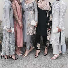 That black one Modern Hijab Fashion, Hijab Fashion Inspiration, Abaya Fashion, Muslim Fashion, Eid Outfits, Pakistani Outfits, Fashion Outfits, Kebaya Dress, Lesage