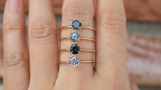 Sapphire Solitaire Ring, Cheap Wedding Rings, Gold Ring Designs, Gold Diamond Wedding Band, Alternative Engagement Rings, Ring Verlobung, Cute Jewelry, Stone Rings, Glitters
