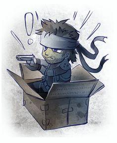 Fanart of Snake from Metal Gear Solid. www.mairperkins.co.uk