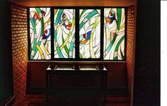 Stained Glass Window by NUZ # Art # Artist at Betsy Frank Gallery