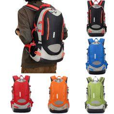 Sale 13% (17.99$) - IPRee™ 40L Outdoor Travel Backpack Rucksack Sports Hiking School Satchel Laptop Bag Unisex Women Men
