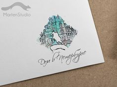 Logo design by MartenStrudio #Design, #Logo, #building, #russia