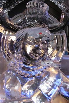20 Fascinating Ice and Snow Sculptures - Oddee.com (snow sculptures, ice sculptures)